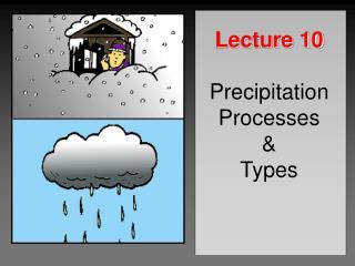 Lecture 10 Precipitation Processes & Types