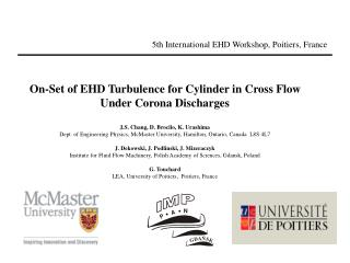 5th International EHD Workshop, Poitiers, France