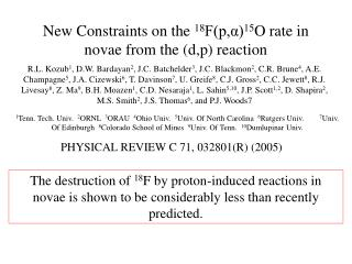 New Constraints on the  18 F(p,α) 15 O rate in novae from the (d,p) reaction