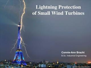Lightning Protection of Small Wind Turbines