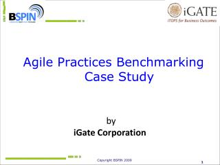 Agile Practices Benchmarking Case Study