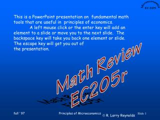 This is a PowerPoint presentation on  fundamental math