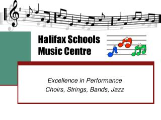 Halifax Schools Music Centre