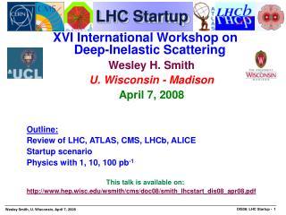 LHC Startup