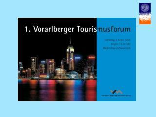 Dr. Klaus Weiermair Zentrum für Tourismus und Dienstleistungswirtschaft Universität Innsbruck