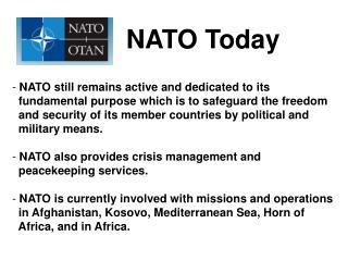 NATO  Today