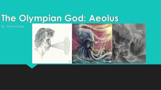 The Olympian God: Aeolus