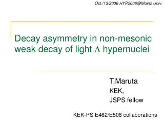 Decay asymmetry in non-mesonic weak decay of light L hypernuclei