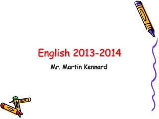 English 2013-2014