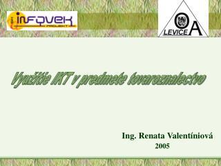 Využitie IKT v predmete tovaroznalectvo
