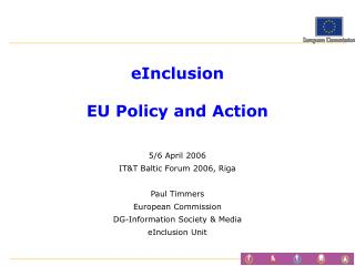 eInclusion EU Policy and Action