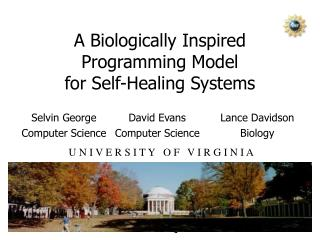 A Biologically Inspired Programming Model for Self-Healing Systems