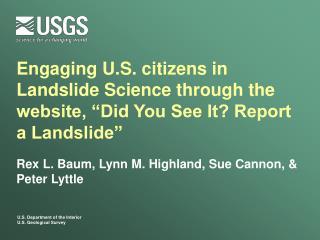 Rex L. Baum, Lynn M. Highland, Sue Cannon, & Peter Lyttle