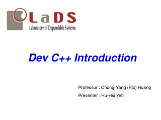 Dev C++ Introduction