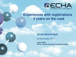 Experiences with registrations - 5 years on the road