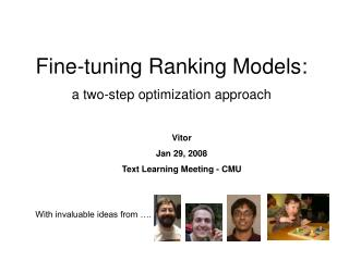 Fine-tuning Ranking Models: