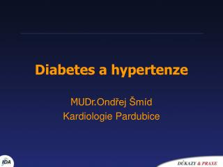 Diabetes a hypertenze