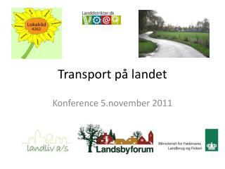 Transport på landet