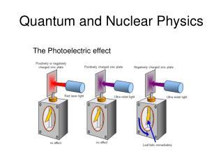 Quantum and Nuclear Physics