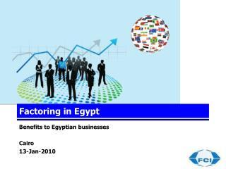 Factoring in Egypt
