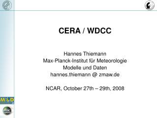 CERA / WDCC