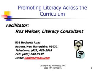 Promoting Literacy Across the Curriculum