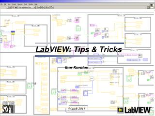 LabVIEW: Tips & Tricks