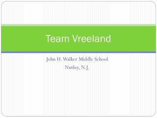 Team Vreeland