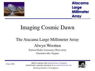 Imaging Cosmic Dawn