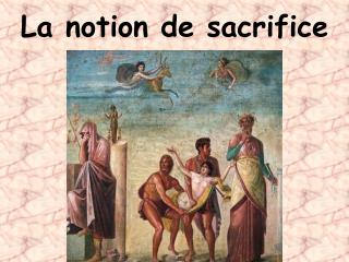 La notion de sacrifice