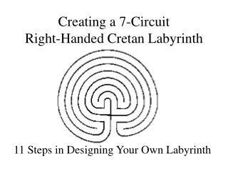 Creating a 7-Circuit Right-Handed Cretan Labyrinth