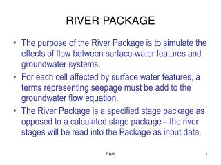 RIVER PACKAGE