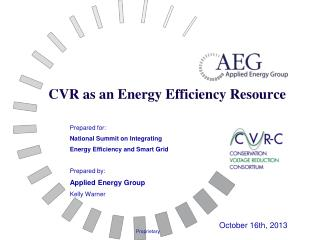 CVR as an Energy Efficiency Resource