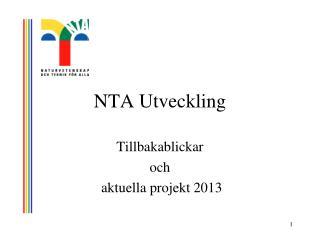 NTA Utveckling