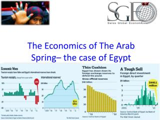 The Economics of The Arab Spring– the case of Egypt