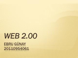 EBRU G�NAY 20110954061