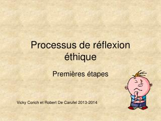 Processus de réflexion éthique