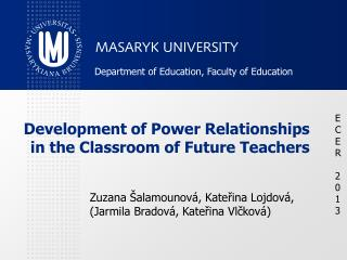 Development of Power Relationships in the Classroom of Future Teachers