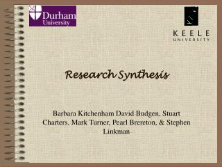 Research Synthesis