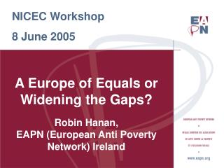 NICEC Workshop 8 June 2005