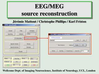 EEG/MEG source reconstruction
