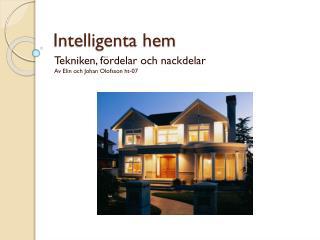 Intelligenta hem
