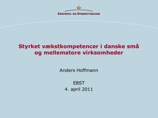 Styrket vækstkompetencer i danske små og mellemstore virksomheder