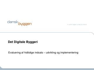 Det Digitale Byggeri