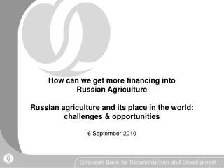 Distinct Financing Phases