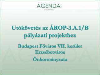 Utókövetés az ÁROP-3.A.1/B pályázati projekthez