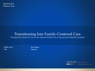 Family Centered care for cesarean section patients