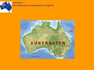 Australien –  Physiotherapie im internationalen Vergleich