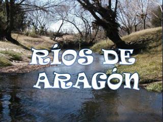 RÍOS DE  ARAGÓN
