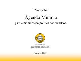 para a mobilização política dos cidadãos